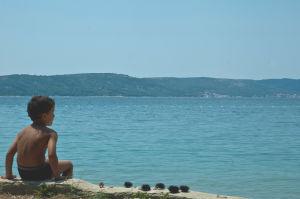 Boy and his Catch, Croatia